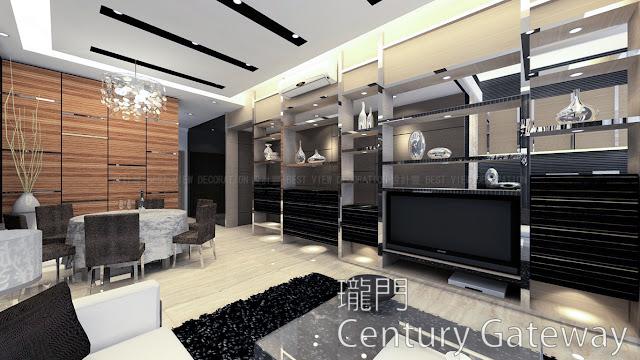 屯門 西鐵站 瓏門 室內設計單位 (Century Gateway)