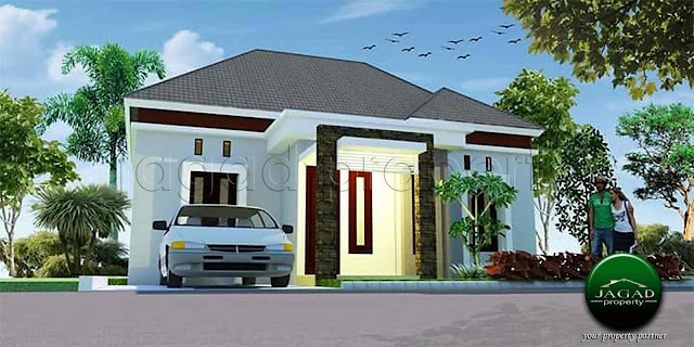 Rumah Siap Bangun dekat Pasar Cebongan