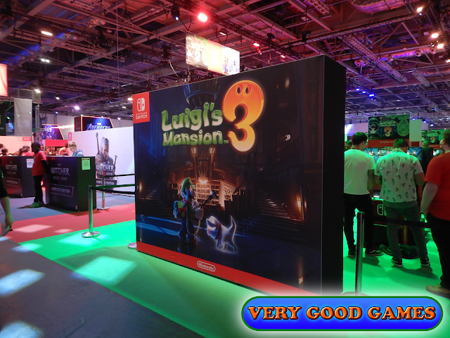 Photo report from the gaming event EGX 2019 in London - the game Luigi's Mansion 3 for Nintendo Switch