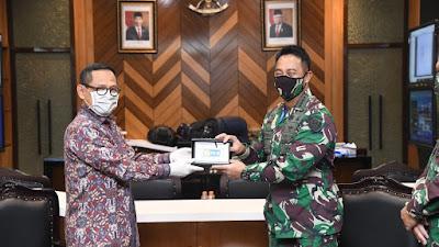 Dengan PLN, Kasad Bahas Bantuan untuk Bangun Perumahan Prajurit