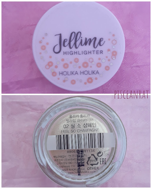 Holika Holika Jellime Highlighter 8g / Php 450  in color 02 Feel So Champagne