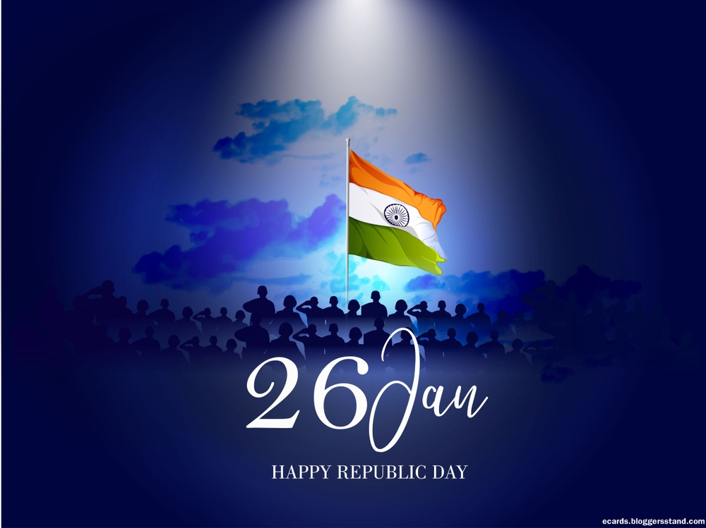 Happy republic day 2021 indian army with flag wallpapers images