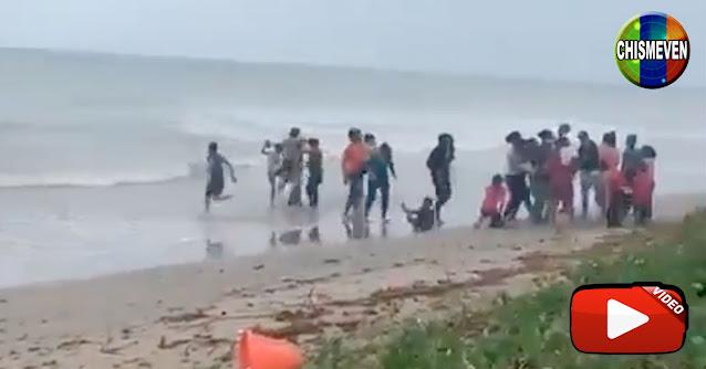 Así llegaron los 16 niños balseros y sus madres al ser expulsados de Trinidad
