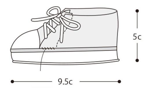 Пинетки-кеды крючком. Схемы вязания (3)