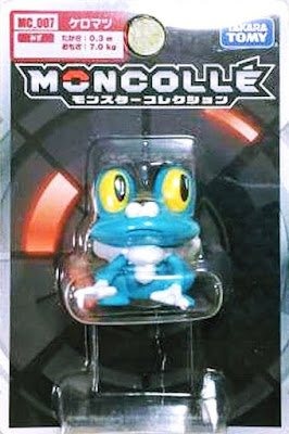 Froakie figure Takara Tomy Monster Collection MONCOLLE MC series