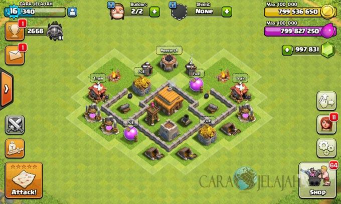 Desain Base Town Hall 3 Terbaik Dan Terbaru Clash Of Clans 33