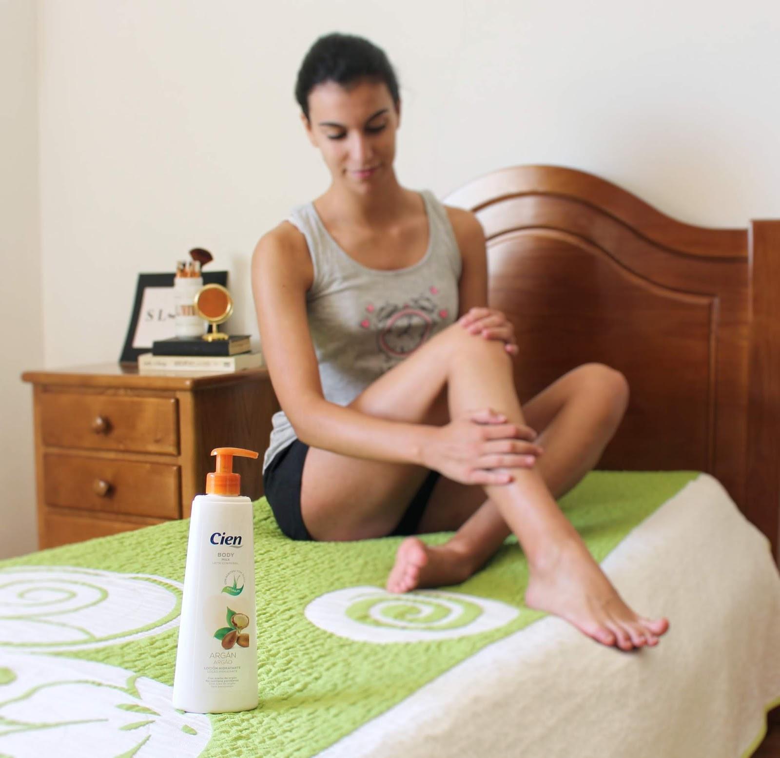 Creme hidratante de óleo de argão da Cien: Review