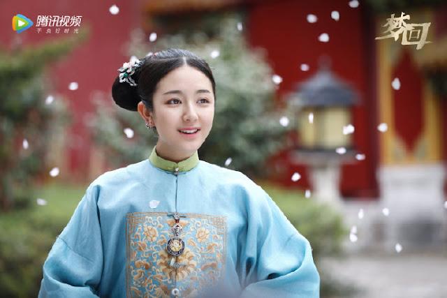 meng hui  dream back to the qing dynasty li landi