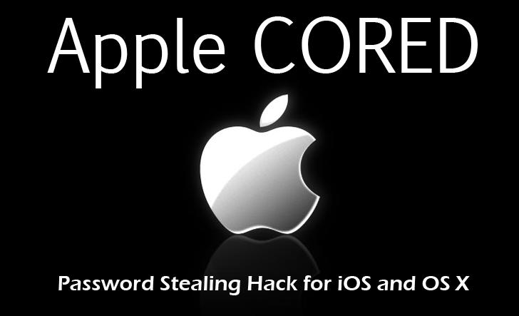 Zero-day Exploit to Steal OS X and iOS Passwords