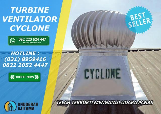 Pemasangan Turbin Ventilator Cyclone