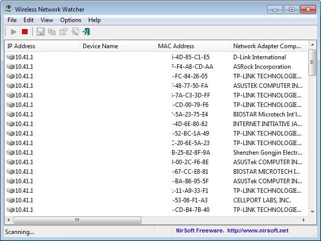 تحميل برنامج معرفة المتصلين علي الشبكة