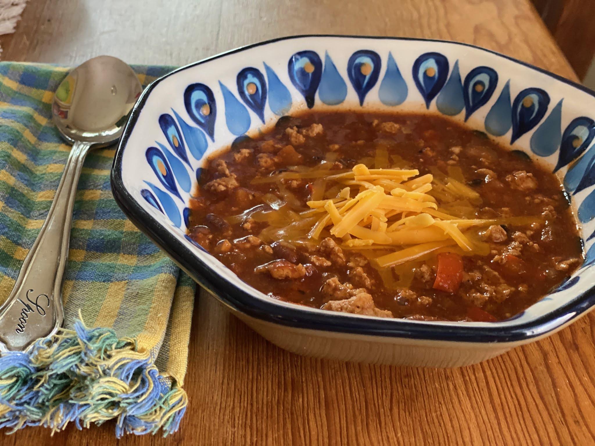 Krismulkey Com Spicy Turkey Chili Recipe