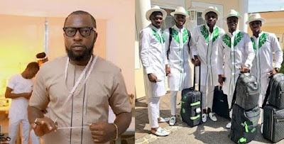 Designer of Super Eagles outfit speaks out over lack of recognition