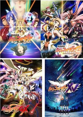 Senki Zesshou Symphogear S1+ S2 +S3 + S4 + S5