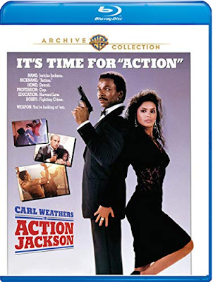 Blu-ray cover for Warner Archive Collection's ACTION JACKSON!