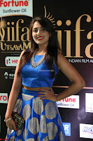 Madhu Shalini Looks Super Cute Slim trim Blue Choli Ghagra IIFA Utsavam Awards 45.JPG