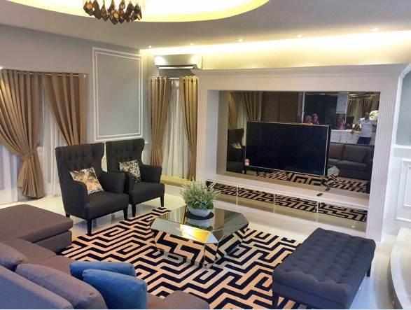Desain plafon rumah minimalis ruang tengah
