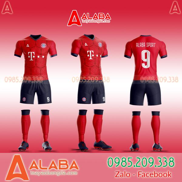 Áo Bayern Tự Thiết Kế Đẹp 2019 mã ALB BA03