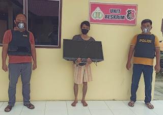 Pelaku CURAT Berhasil Diamankan Tekab Unit Reskrim Polsekta Kota Pinang