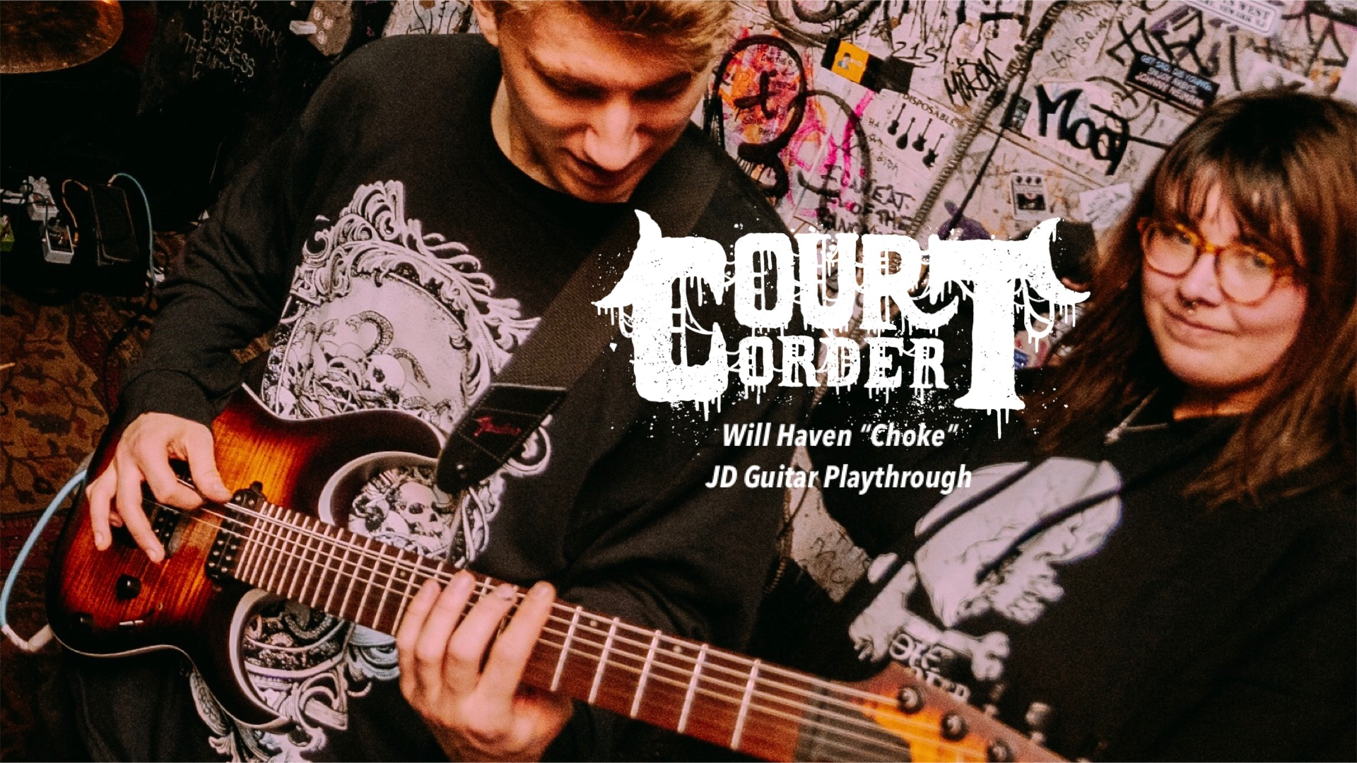 """Court Order - Will Haven """"Choke"""" - Guitar Playthrough"""