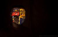 Reportaje sobre el maquillaje corporal con Erika Monroy, de AKIN Body Painting. Fotografía por Chico Sanchez