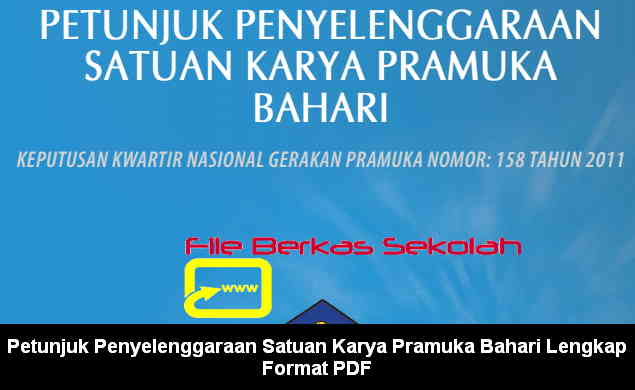 Download Petunjuk Penyelenggaraan Satuan Karya Pramuka Bahari Lengkap Format PDF