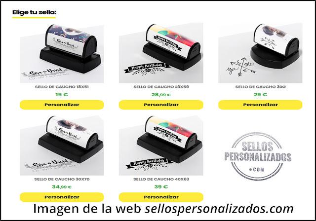 sorteo sellos personalizados