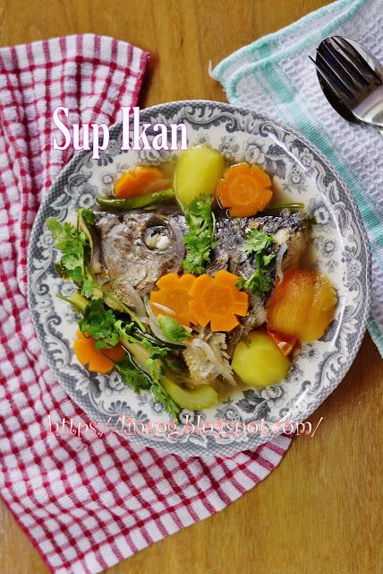 kepala ikan resepi sihat mudah  sedap petua ikan tidak hanyir teratak mutiara kasih Resepi Sup Ikan Dowry Enak dan Mudah