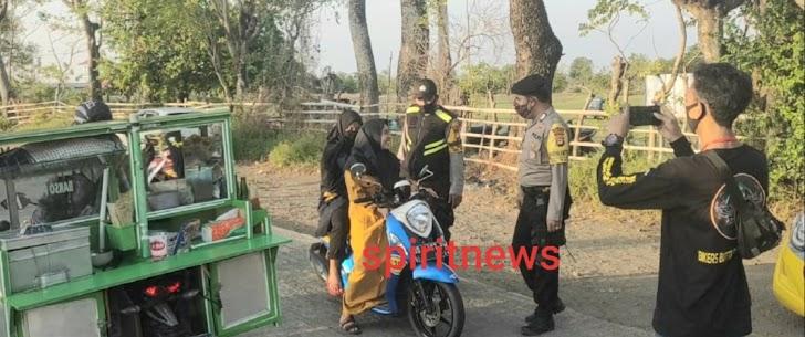 Personil Polsek Marbo Optimalkan Patroli Dan Himbauan Protkes Di Masyarakat