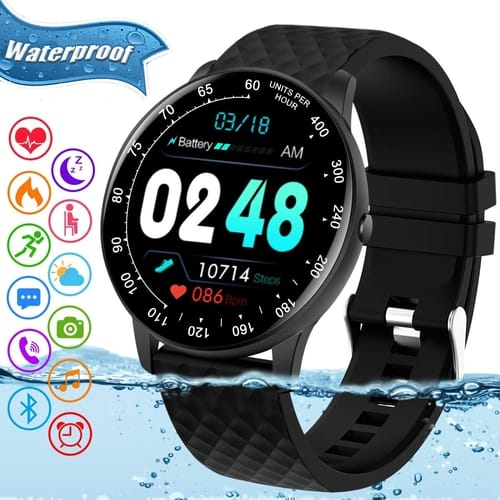 Review Amokeoo IP68 Waterproof Bluetooth Smartwatch