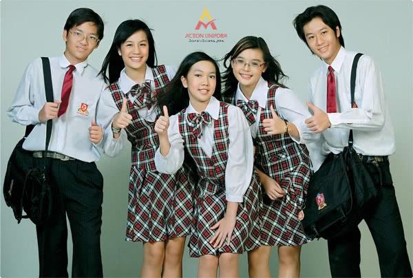 Đồng phục học sinh ở Huế