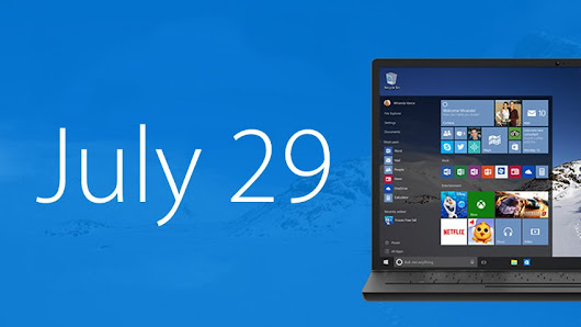 Finally Microsoft confirms release of Windows 10 on July 29....!!