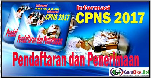Panduan Pendaftaran SSCN Penerimaan CPNS 2017