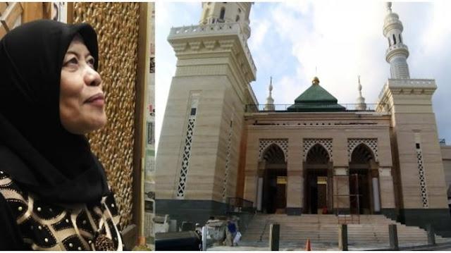 Berkah Jualan Ayam, Wanita Ini Akhirnya Berhasil Bangun Masjid Megah 3 Lantai di Yogyakarta