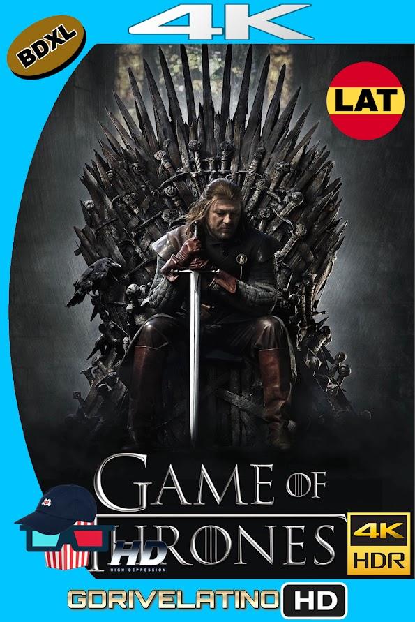 Juego de Tronos Temporada 01 (2011) BDXL 4K UHD HDR Latino-Ingles ISO