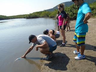Estudantes do UNIFESO em visita técnica aos ecossistemas costeiros no Rio de Janeiro