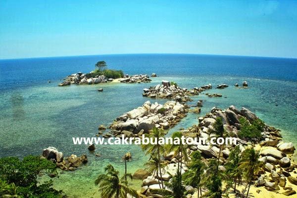 belitung island wisata ke pantai Pulau Lengkuas Belitung tour