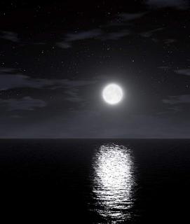 أنظر الى القمر