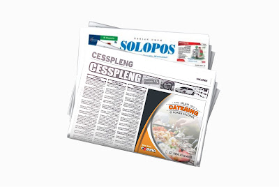 pasang iklan catering di koran solopos