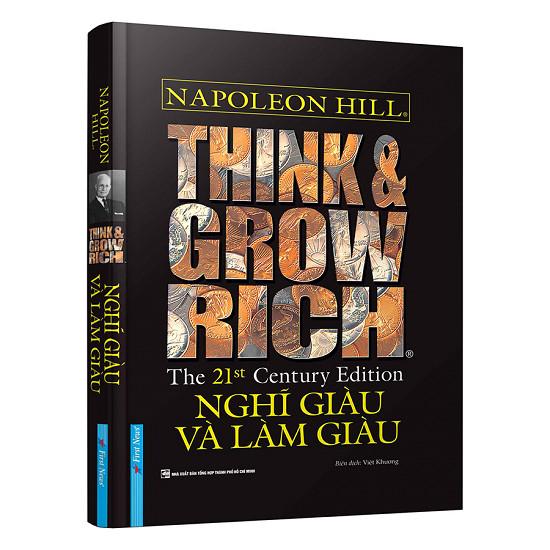 Kết quả hình ảnh cho sách Think & Grow Rich - Nghĩ Giàu Và Làm Giàu