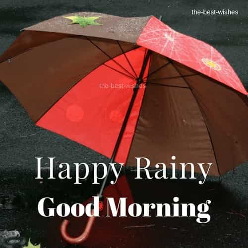 Happy Rainy Good Morning Images