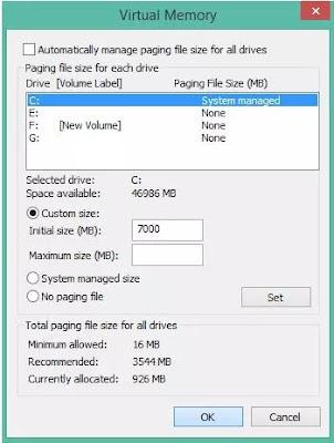 Cara Menambah RAM PC Menggunakan Harddisk-5
