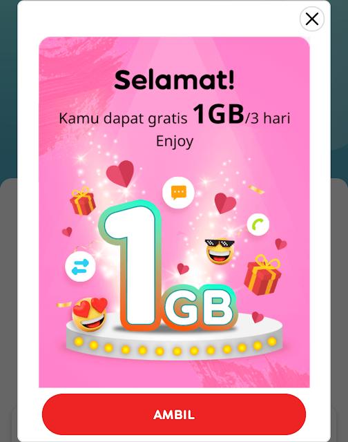 Cara Mendapatkan Kuota Gratis Indosat 1.7GB Terbaru 2020