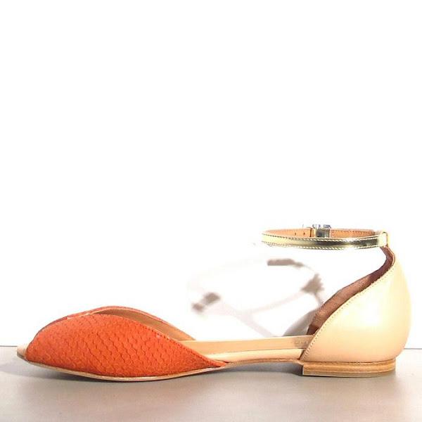 Emma Go chaussures Juliette corail