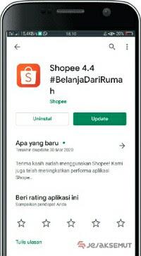 cara upload produk di shopee dari instagram