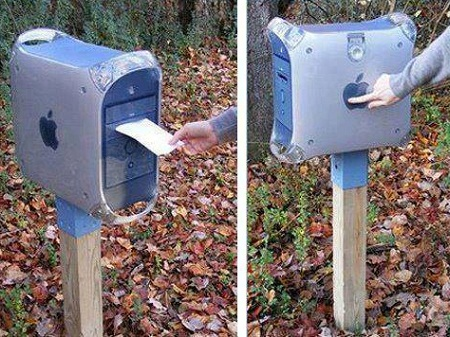 Econotascom Correo Reciclado Ideas Originales De Reciclaje - Ideas-de-reciclaje