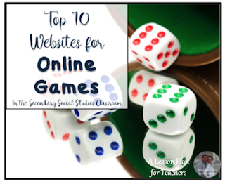 Top 10 Websites for Online Games in the Social Studies Classroom