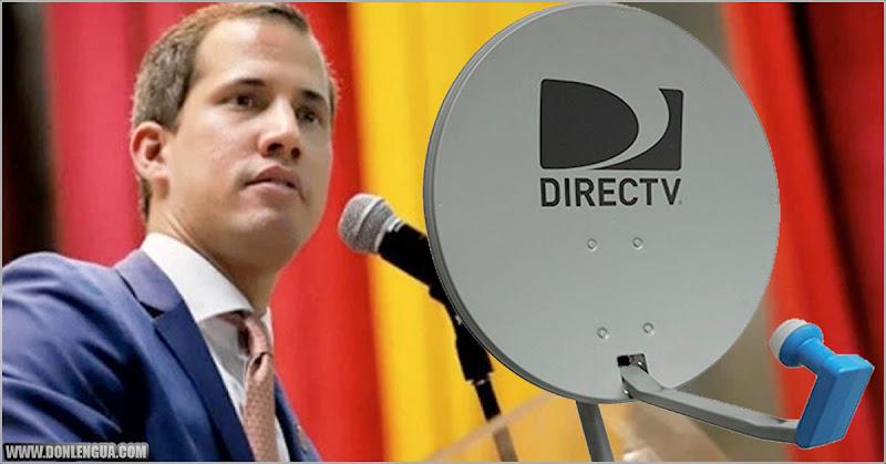 Juan Guaidó culpa al Régimen de Nicolás Maduro por el cierre de DirecTV en Venezuela