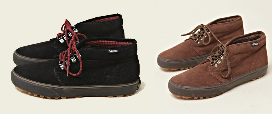 3eaaf2343e FASHION CHIC  Vans Chukka Boots x The Duffer