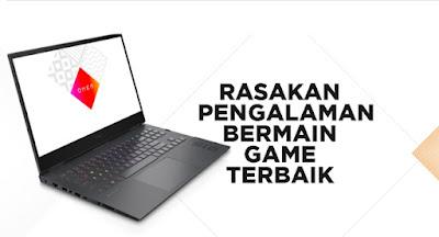 spek laptop gaming omen16